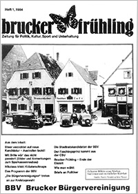 Brucker Frühling Ausgabe 1984