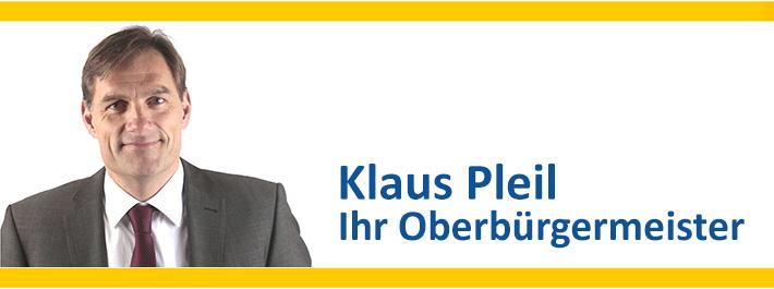 Klaus Pleil BBV - Oberbürgermeister von Fürstenfeldbruck
