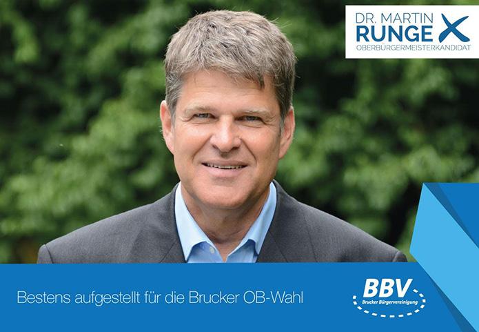 Martin Runge bestens aufgestellt als OB Kandidat