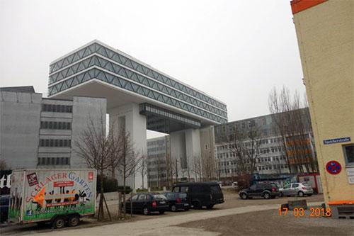 Neugestaltung Werksviertel München